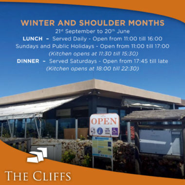 TheCliffs_Opening_Hours Winter FB_Post