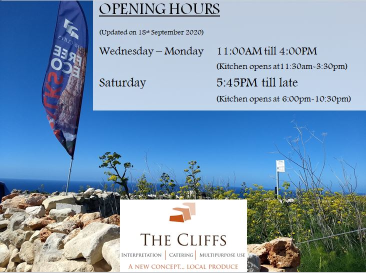 Opening Hours WInter